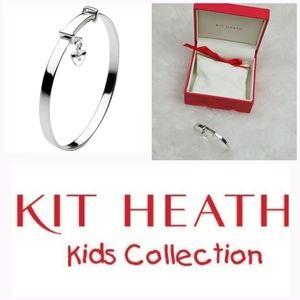 Kit Heath infant diamond charm bracelet